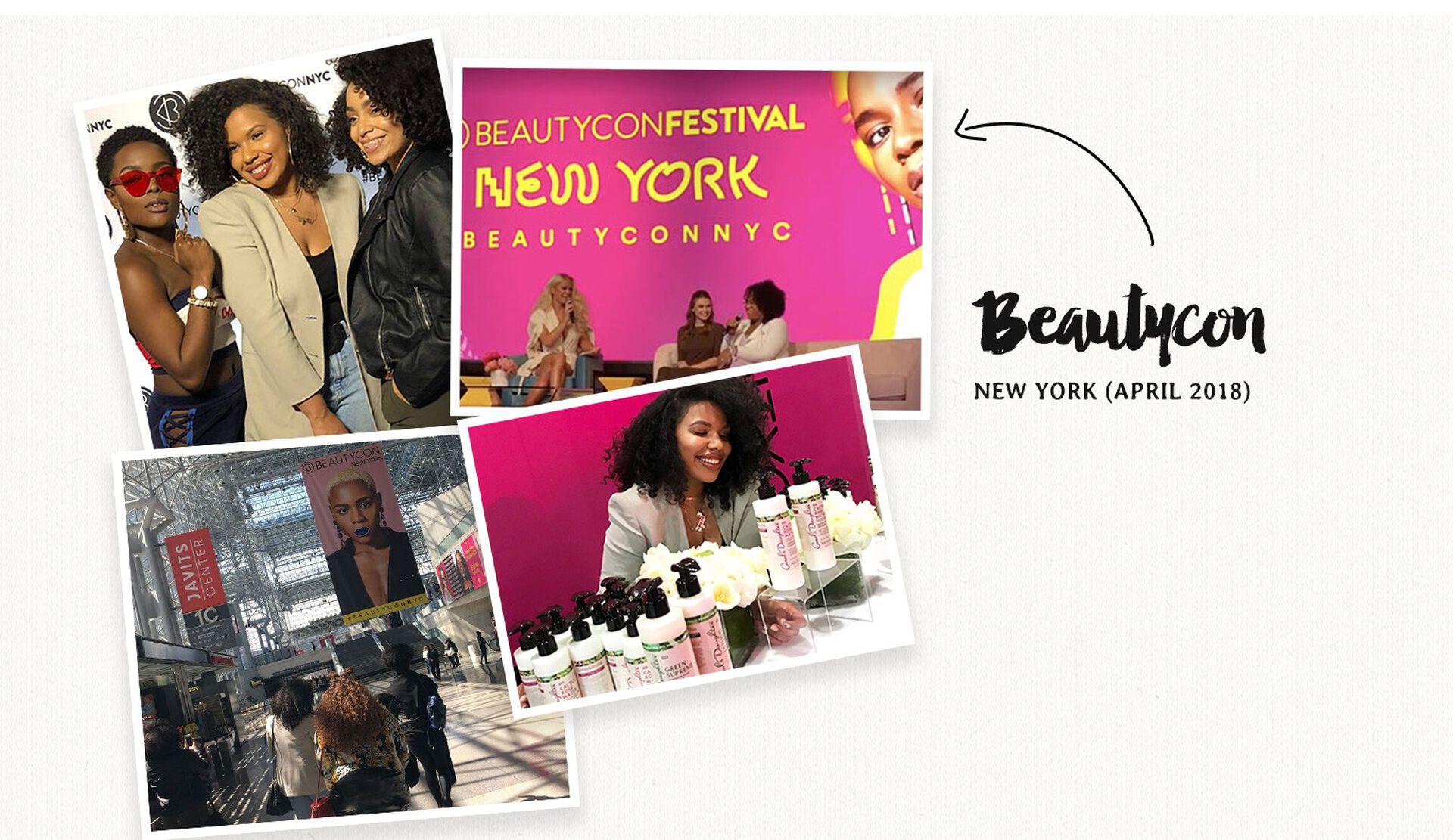 Beautycon. New York. April 2018.