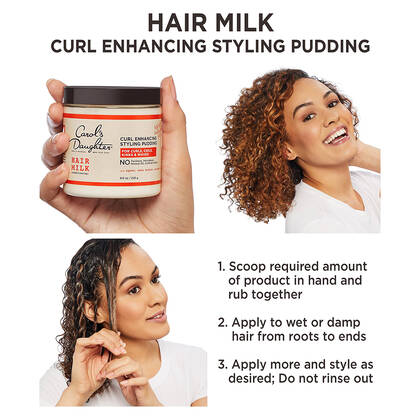 Hair Milk Nourishing & Conditioning Styling Pudding