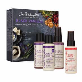Black Vanilla Travel Size (3pc) Gift Set + Bonus Refresher Spray