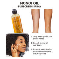 Monoi Body Oil Spray Sunscreen SPF 30