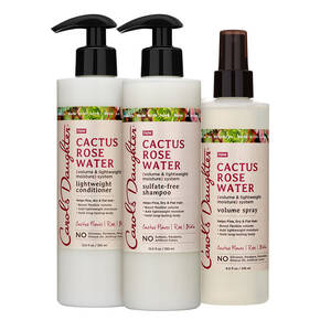 Cactus Rose Water Volume Boosting Set