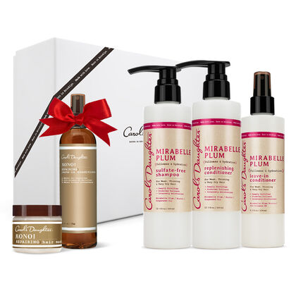 Mirabelle Plum Holiday Hair Set + FREE GIFTS!