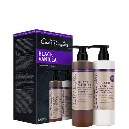 Black Vanilla Moisture & Shine Gift Set