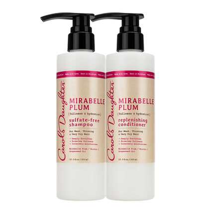 Carols Daughter Mirabelle Plum Hair Health Duo