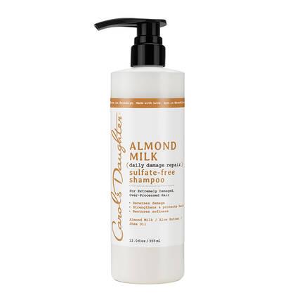 almond milk sulfate free shampoo carol s daughter