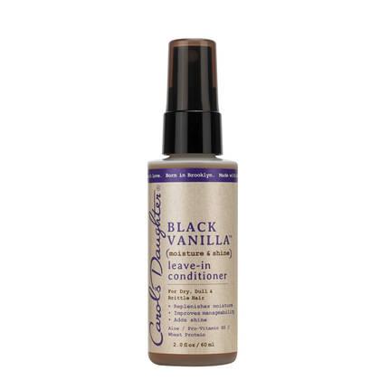 Black Vanilla Travel Size Leave In Conditioner