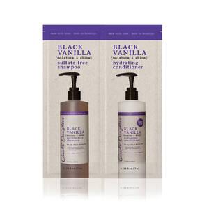Black Vanilla Shampoo & Conditioner Packette luxury product
