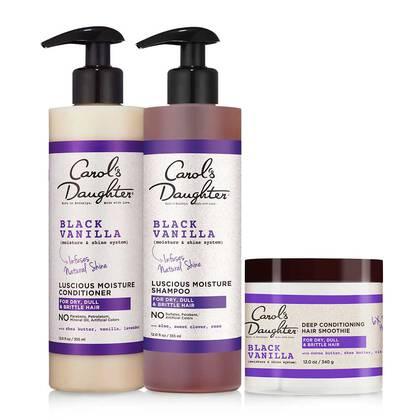 Black Vanilla Conditioning Hair Set