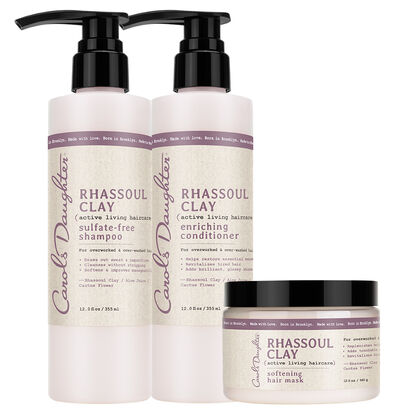 Carols Daughter Rhassoul Clay Haircare Trio