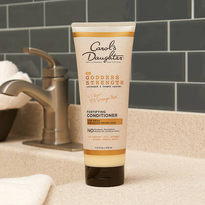 Goddess Strength Fortifying Conditioner With Castor Oil