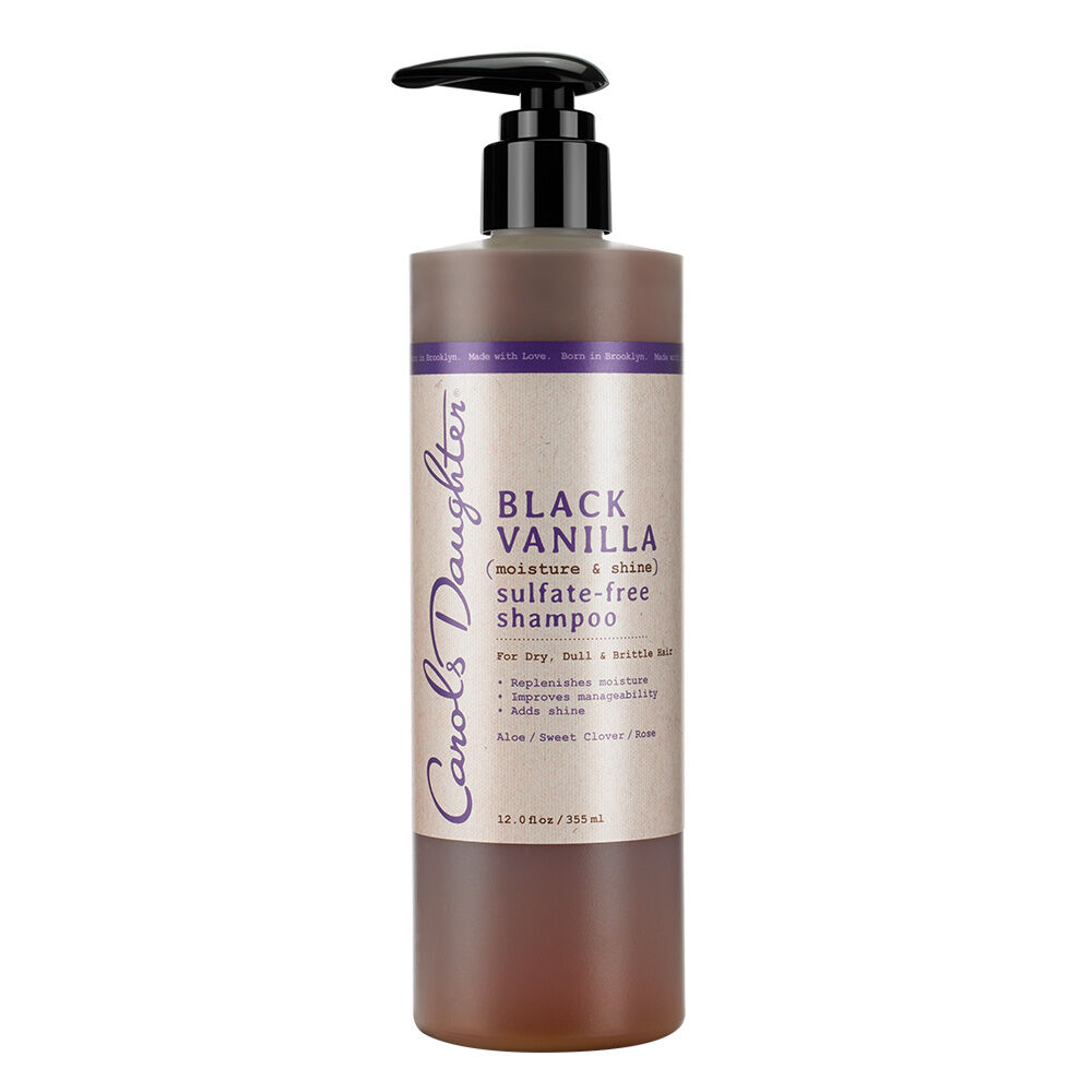 REPLENISHES MOISTURE, IMPROVES MANAGEABILITY, ADDS SHINE! Sulfate Free, No Silicones, No Parabens, No Mineral Oil, No Artificial Colors, No Petroleum FOR DRY, DULL OR BRITTLE HAIR. When your hair has the right balance of moisture the rest just falls into place - manageability, shine, softness - no matter how dry, dull or brittle the hair. So, fix it in an instant with help from this sulfate free, color-safe shampoo that cleanses and restores your natural moisture without adding weight to your hair. Aloe Leaf Juice hydrates your hair so it's softer and more manageable, while Sweet Clover and Rose Extract give hair oodles of healthy shine. Powerful ingredients at work: Aloe Leaf Calendula FlowerRose ExtractSweet Clover >> CLICK HERE to read how to use Black Vanilla on all hair types-even weave.