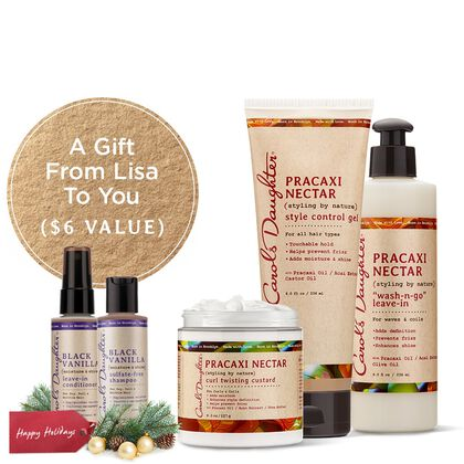 Pracaxi Nectar Curl Styling Holiday Set