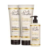 Goddess Strength Shampoo, Conditioner and Leave-In