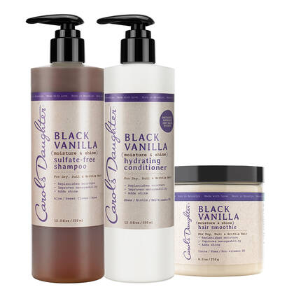 Carols Daughter Black Vanilla Conditioning Hair Set