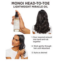 Monoi Lightweight Miracle Oil