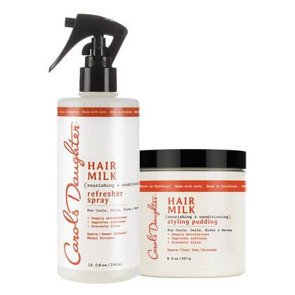 Carols Daughter Hair Milk Longer Lasting Curls Duo