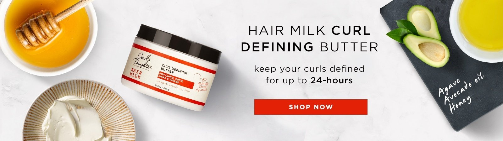 Hair Milk Curl Defining Butter