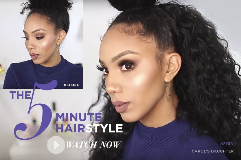 Hair Styling Video Tutorials Carols Daughter Official Site