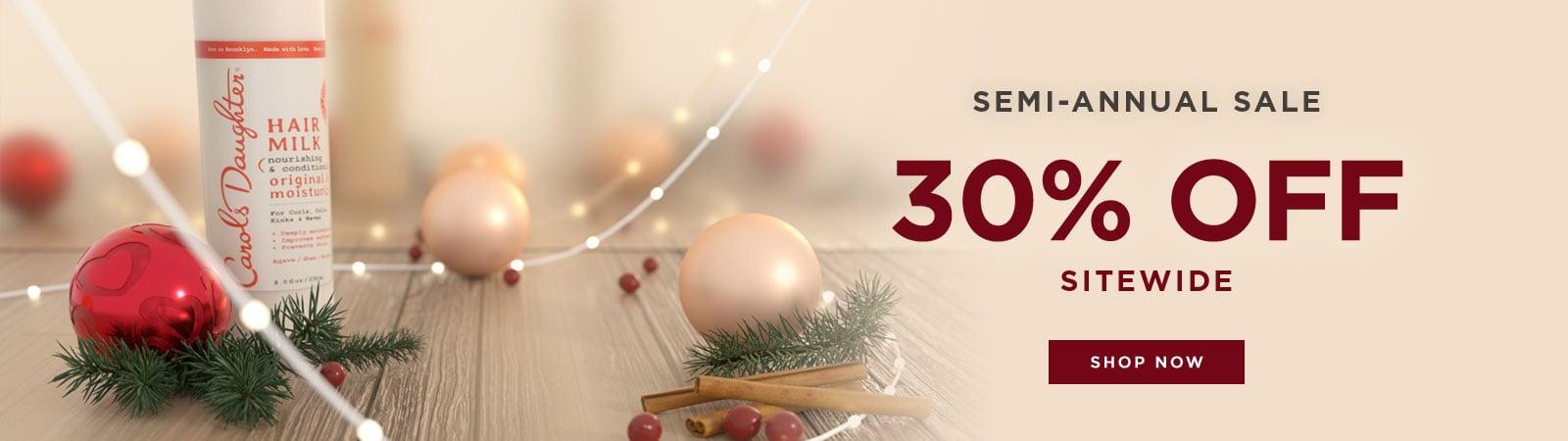 30% Off Sitewide. Shop Sale.