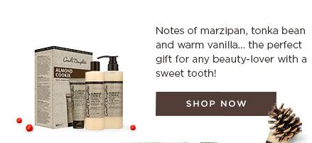 Notes of marzipan, tonka bean and warm vanilla ... the perfect gift for any beauty-lover with a sweet tooth!