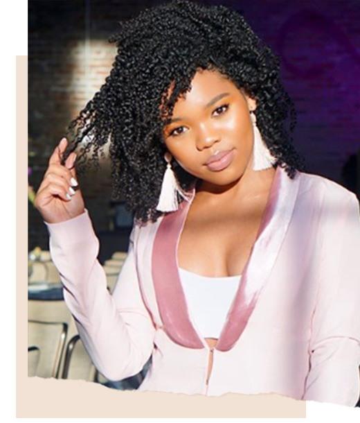 Natasha 4B Hair Type - 4b