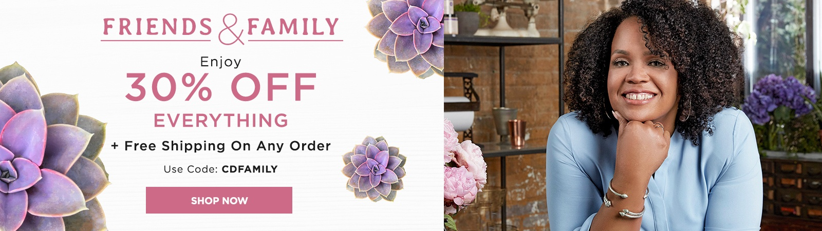 Shop Friends and Family Sale