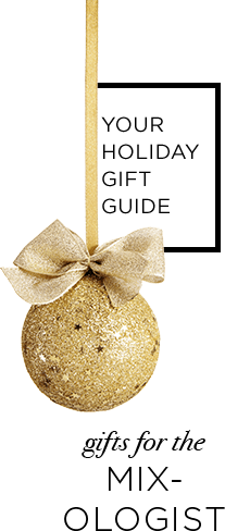 Holiday gift guide for the mixologist