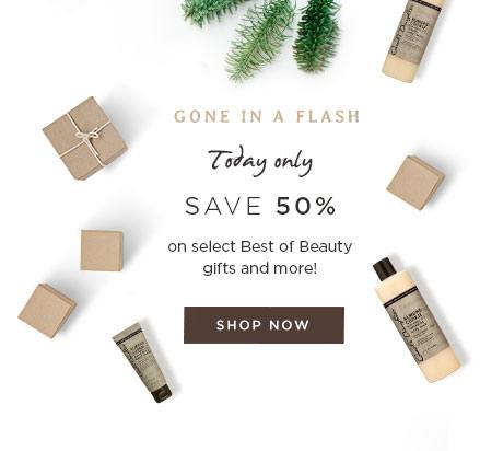 Gone in a Flash! Today Only. Save 50% on select Best of Beauty gifts and more!