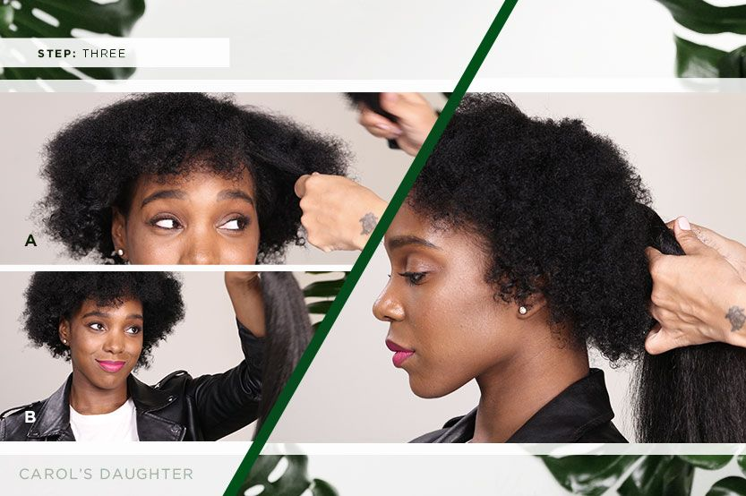 Glam Natural Hairstyles With Hair Extensions Carols Daughter