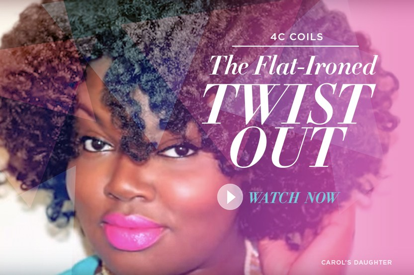 How to Style 4c Hair - Twist Out Natural Hairstyle | Carol\'s Daughter