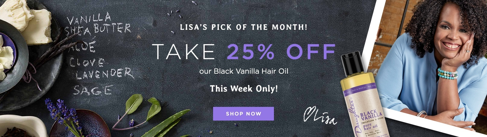 Lisa's Pick of the Month