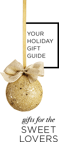 Holiday gift guide for sweet lovers