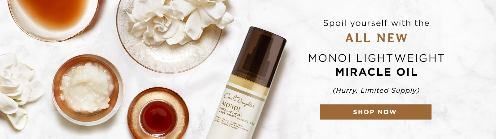 Shop Monoi Lightweight Miracle Oil